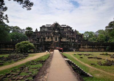 Baphuon Brigde Front Temple