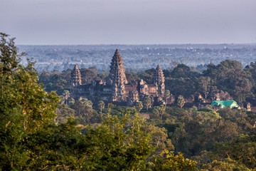 Angkor Wat from Bakheng Mountain