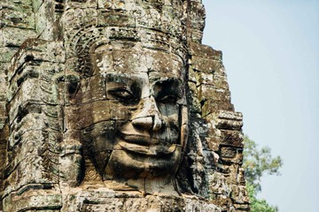 Bayon Temple - Jayavarman VII Faces