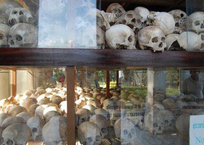 Killing Field Museum Skulls